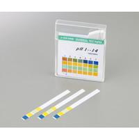 pH試験紙 スティックタイプpH1-14