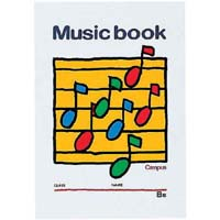 音楽帳B5 5線譜8段 18枚×20 オン-24×20