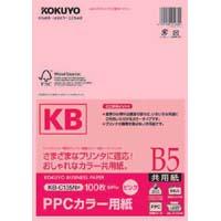 PPCカラー用紙共用紙FSC認証B5 100枚 桃