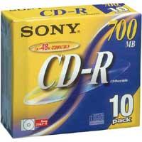 CD-R(データ用) 48倍速 シルバー
