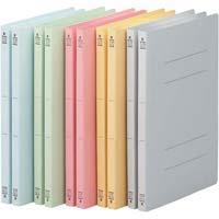 フラットファイルV樹脂とじ具 A4縦 5色×2冊