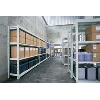 ノンボルト中量ラック 950×450×1830基本(組立てサービス付き家具)