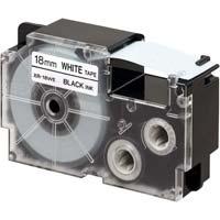 ネームランド 白色テープ 18mm 黒文字 3個入