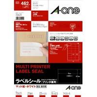上質紙ラベル 兼用 A4 21面 22枚