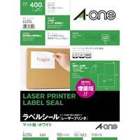 紙ラベル レーザー用 A4 4面 100枚