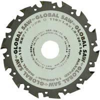 グローバルソー 窯業サイディング用 110mm