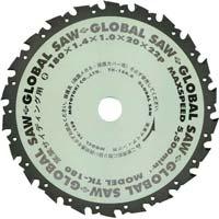 グローバルソー 窯業サイディング用 180mm