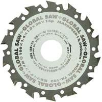 グローバルソー 窯業サイディング用 80mm