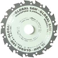 グローバルソー 窯業サイディング用 125mm