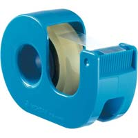 セロテープ小巻カッター付 12mm青