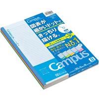学習罫キャンパス セミB5(図表罫6mm) 5冊