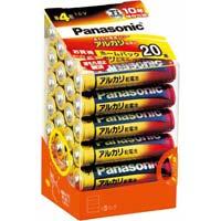 アルカリ乾電池 単4 20本入 LR03XJ/20SH