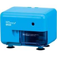 芯先調整機能付き電動シャープナー 横型 ブルー