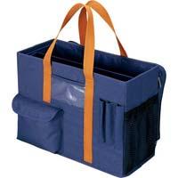 先生用持ち運びバッグ ブルー