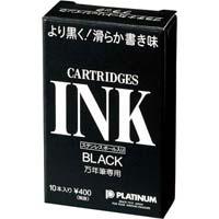 万年筆用カートリッジ 黒10本入