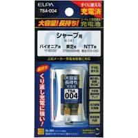 大容量コードレス電話用充電池 TSA-004