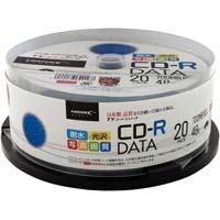 CD-Rデータ用48倍速IJ対応WS20枚SP