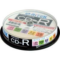CD-R(データ用) 52倍速 インクジェットプリンタ対応