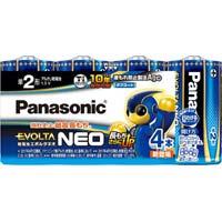 アルカリ乾電池 エボルタネオ 単2 4本入