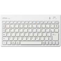 Bluetoothコンパクトキーボード ホワイト