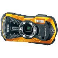 防水防塵デジタルカメラオレンジ