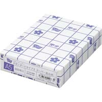 コピー用紙 タイプ2 スーパー高白色 A5 国産 1冊(500枚)