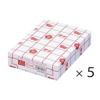 スタンダードタイプ A5 1冊(500枚)×5