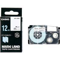ネームランド 白色テープ 12mm 黒文字