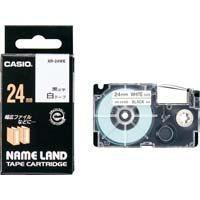 ネームランド 白色テープ 24mm 黒文字