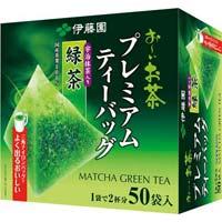 プレミアムティーバッグ 抹茶入り緑茶 50袋