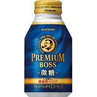プレミアムボス 微糖 260g 24本缶