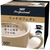AGFプロフェッショナル リッチカフェオレ50本入