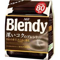 ブレンディ インスタント 深いコク 160g