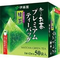 プレミアムティーバッグ 抹茶入り緑茶 50袋×5
