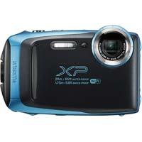防水防塵デジタルカメラ スカイブルー