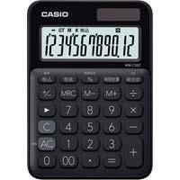 カラフル電卓 MW-C20C-BK ブラック