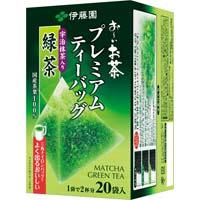 プレミアムティーバッグ 抹茶入り緑茶 20袋