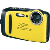 防水防塵デジタルカメラ イエロー