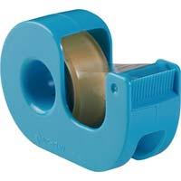 セロテープ小巻カッター付 15mm 青