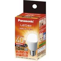 LED一般形電球 広配光 E17 40W 電球色