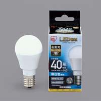 LED E17 広配光40形 昼白色
