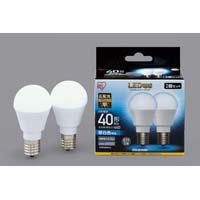 LED E17 広配光40形 昼白色 2個入
