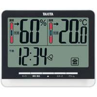 デジタル温湿度計 ブラック