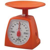 クッキングスケール1kg オレンジ
