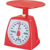 クッキングスケール1kg レッド