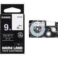 ネームランド 白色テープ 9mm 黒文字