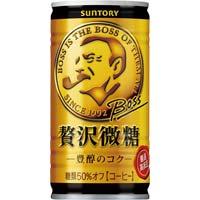 ボス 贅沢微糖 185g 30缶