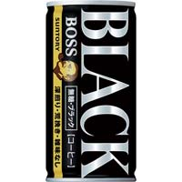 ボス 無糖ブラック 185g 30缶