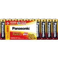 アルカリ乾電池 単3 20本入 LR6XJ/20SW