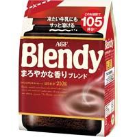 ブレンディ インスタント まろやかな香り 210g
